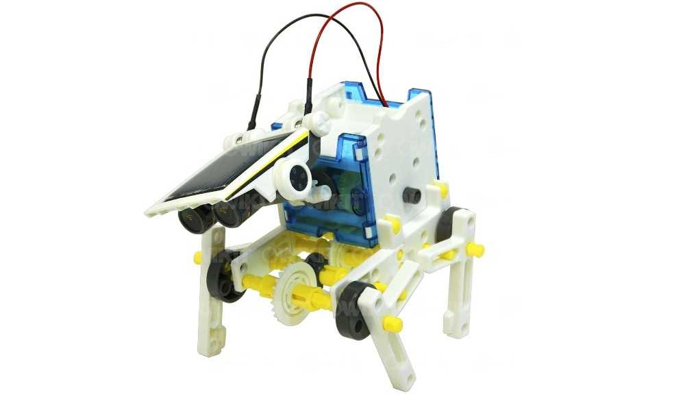 14 In 1 DIY Solar Robot Kit Review